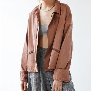 BDG Trapeze Shortie Anorak Jacket
